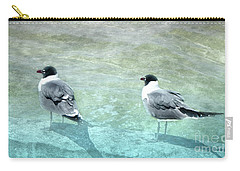 Carry-all Pouch featuring the photograph At The Waters Edge by Judy Hall-Folde
