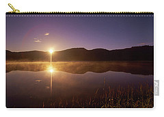 At The Waters Edge2 Carry-all Pouch by Loni Collins