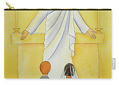 At Their First Holy Communion Children Meet Jesus In The Holy Eucharist Carry-all Pouch