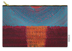 At World's Beginning Original Painting Carry-all Pouch