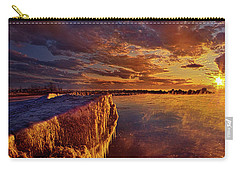 Carry-all Pouch featuring the photograph At World's End by Phil Koch