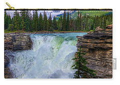 Athabasca Falls, Ab  Carry-all Pouch