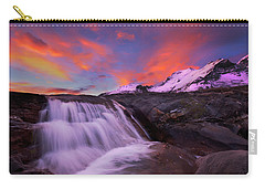 Athabasca On Fire Carry-all Pouch by Dan Jurak