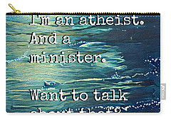 Atheist T Shirt Carry-all Pouch