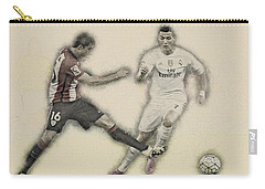 Athletic Club  Vs Real Madrid Carry-all Pouch by Don Kuing