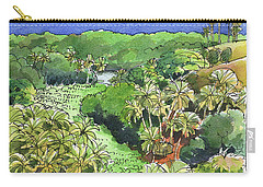 Atiu Lake View Carry-all Pouch