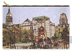 Atlanta Georgia Usa - Color Pencil Carry-all Pouch