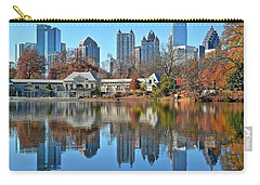 Atlanta Reflected Carry-all Pouch by Frozen in Time Fine Art Photography