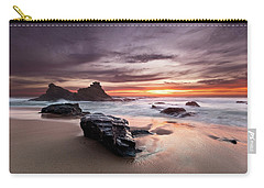 Carry-all Pouch featuring the photograph Atlantic Seashore by Jorge Maia