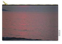 Atlantic Sunrise Carry-all Pouch by Sumoflam Photography