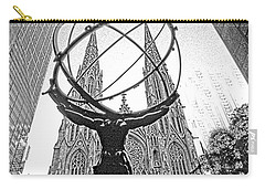 Atlas Rockefeller Center Nyc Carry-all Pouch