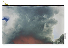Carry-all Pouch featuring the photograph Atmospheric Combustion by Jesse Ciazza