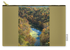 Atop Ha Ha Tonka National Forest Carry-all Pouch by Sara Raber