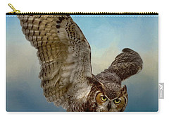 Attitude Is Everything Carry-all Pouch by Myrna Bradshaw