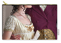 Attractive Regency Couple Carry-all Pouch by Lee Avison