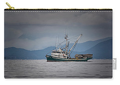 Carry-all Pouch featuring the photograph Attu Off Madrona by Randy Hall