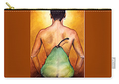 Carry-all Pouch featuring the painting Au Naturel by Christopher Marion Thomas