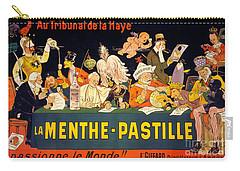 Au Tribunal De La Haye La Menthe Pastille Vintage Carry-all Pouch