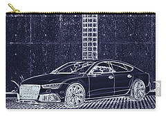 Audi Rs7 Vossen  Carry-all Pouch by PixBreak Art