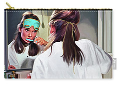 Audrey Hepburn @ Breakfast At Tiffanys #5 Carry-all Pouch