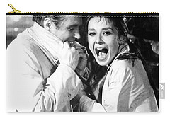 Audrey Hepburn As Holly Golightly Carry-all Pouch