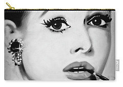 Audrey Hepburn Mural  Carry-all Pouch