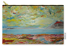 August 2017. Abstract Landscape. Carry-all Pouch