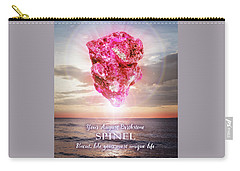 August Birthstone Spinel Carry-all Pouch