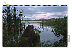 August Evening At The Lake Enajarvi Carry-all Pouch