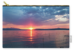 Carry-all Pouch featuring the photograph August Eye by Jan Davies