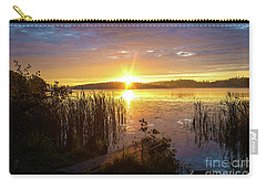 August Morning At The Lake Enajarvi Carry-all Pouch