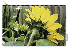 August Motif Carry-all Pouch by Betsy Zimmerli