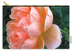 Carry-all Pouch featuring the photograph August Rose 09 by Joyce Dickens