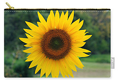 August Sunflower Carry-all Pouch