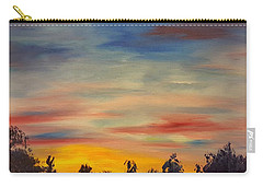 August Sunset In Sw Montana Carry-all Pouch
