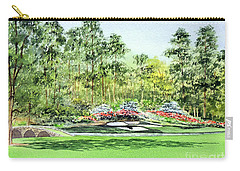 Augusta National Golf Course Carry-all Pouch by Bill Holkham