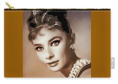 Aurdrey Hepburn - Famous Actress Carry-all Pouch