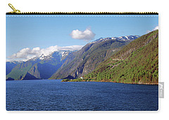 Aurlandsfjord Carry-all Pouch