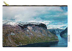 Aurlandsfjorden Panorama Revisited Carry-all Pouch