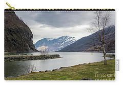 Aurlandsfjorden Carry-all Pouch by Suzanne Luft