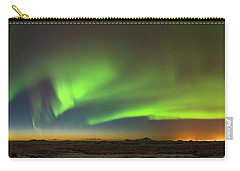 Aurora Above Keflavik In Iceland. Carry-all Pouch