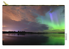Aurora And Storm Clouds Carry-all Pouch