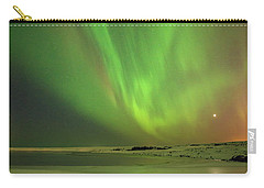 Aurora Borealis Or Northern Lights. Carry-all Pouch