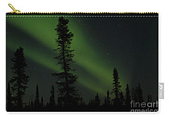 Aurora Borealis The Northern Lights Interior Alaska Carry-all Pouch
