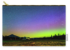 Carry-all Pouch featuring the photograph Aurora In Sisters by Cat Connor