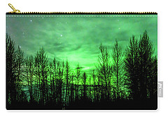 Carry-all Pouch featuring the photograph Aurora In The Clouds by Bryan Carter