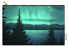Aurora Over Lake Pend Oreille Carry-all Pouch
