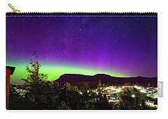 Aurora Over Mt Wellington, Hobart Carry-all Pouch