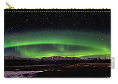 Carry-all Pouch featuring the photograph Aurora Spiral by Bryan Carter