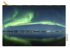 Auroras Over Langoya Island Carry-all Pouch